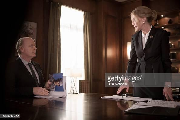 COLONY 'Tamam Shud' Episode 209 Pictured Christian Clemenson as Dan Bennett Ally Walker as Helena