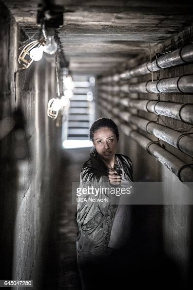 COLONY 'Tamam Shud' Episode 209 Pictured Jessica Parker Kennedy as Maya