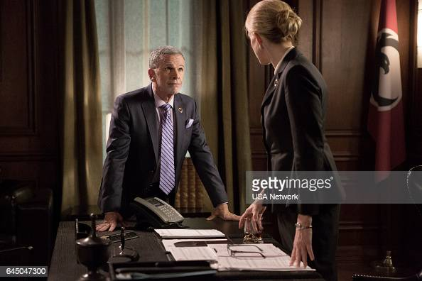 COLONY 'Tamam Shud' Episode 209 Pictured Tony Plana as Proxy Alcala Ally Walker as Helena