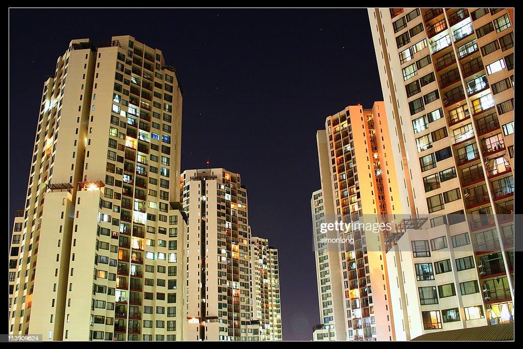 Taman Rasuna apartments : Stock Photo