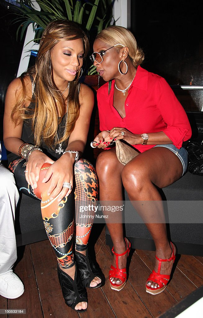 <a gi-track='captionPersonalityLinkClicked' href=/galleries/search?phrase=Tamar+Braxton&family=editorial&specificpeople=2079619 ng-click='$event.stopPropagation()'>Tamar Braxton</a> and Mary J Blige attend Don Pooh's Birthday Party at Copacabana on August 19, 2012 in New York City.