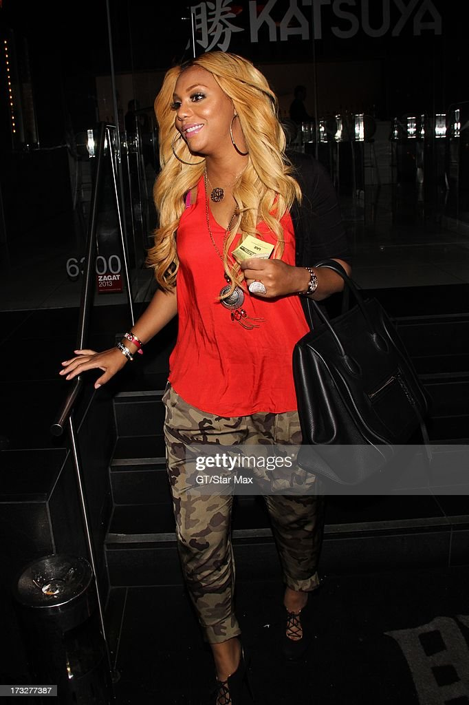 Tamar Braxton as seen on July 10, 2013 in Los Angeles, California.