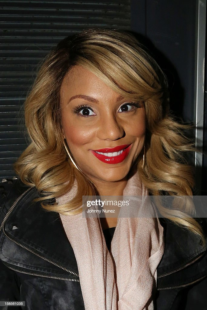 Tamar Braxton attends Best Buy Theater on December 18, 2012 in New York, United States.