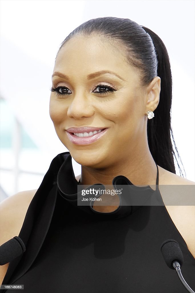 Tamar Braxton attends the BET Experience At L.A. Live Press Conference at Icon Ultra Lounge on May 14, 2013 in Los Angeles, California.