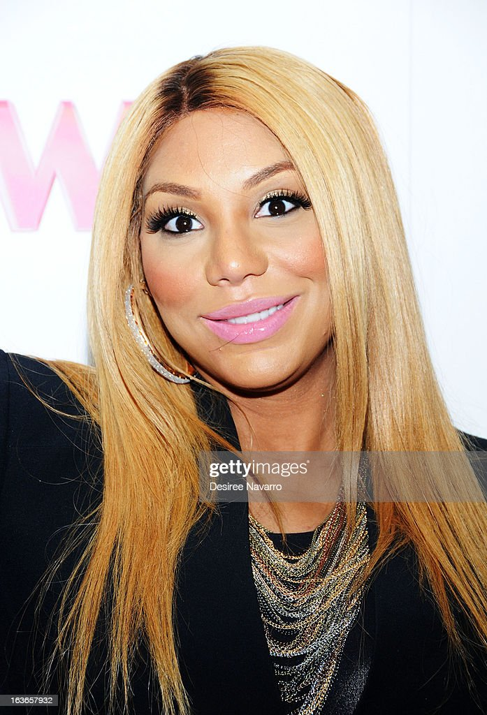 Tamar Braxton attends the 'Braxton Family Values' Season Three premiere party at STK Rooftop on March 13, 2013 in New York City.