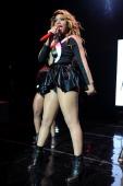 Tamar Braxton performs at Fillmore Miami Beach on May 16 2014 in Miami Beach Florida