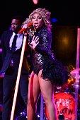 Tamar Braxton performs during John Legend 'Made To Love World Tour' at Fillmore Miami Beach on November 3 2013 in Miami Beach Florida