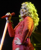 Tamar Braxton performs in support of her Winter Loversland release at The Paramount Theatre on November 27 2013 in Oakland California