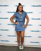 Tamar Braxton visits at SiriusXM Studios on July 21 2015 in New York City