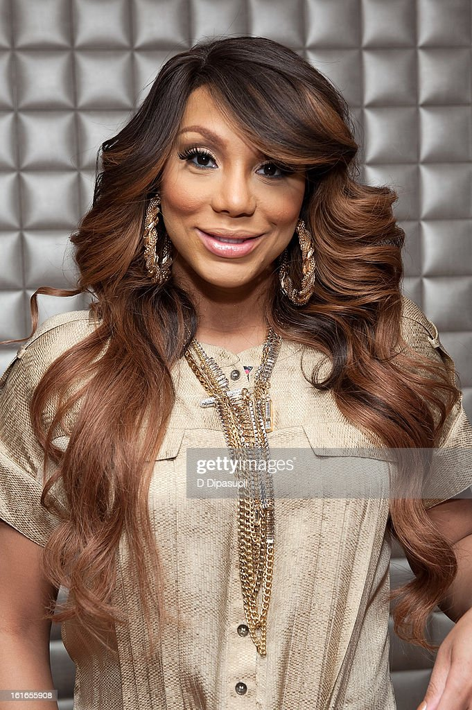 <a gi-track='captionPersonalityLinkClicked' href=/galleries/search?phrase=Tamar+Braxton&family=editorial&specificpeople=2079619 ng-click='$event.stopPropagation()'>Tamar Braxton</a> visits BET's '106 & Park' at BET Studios on February 13, 2013 in New York City.