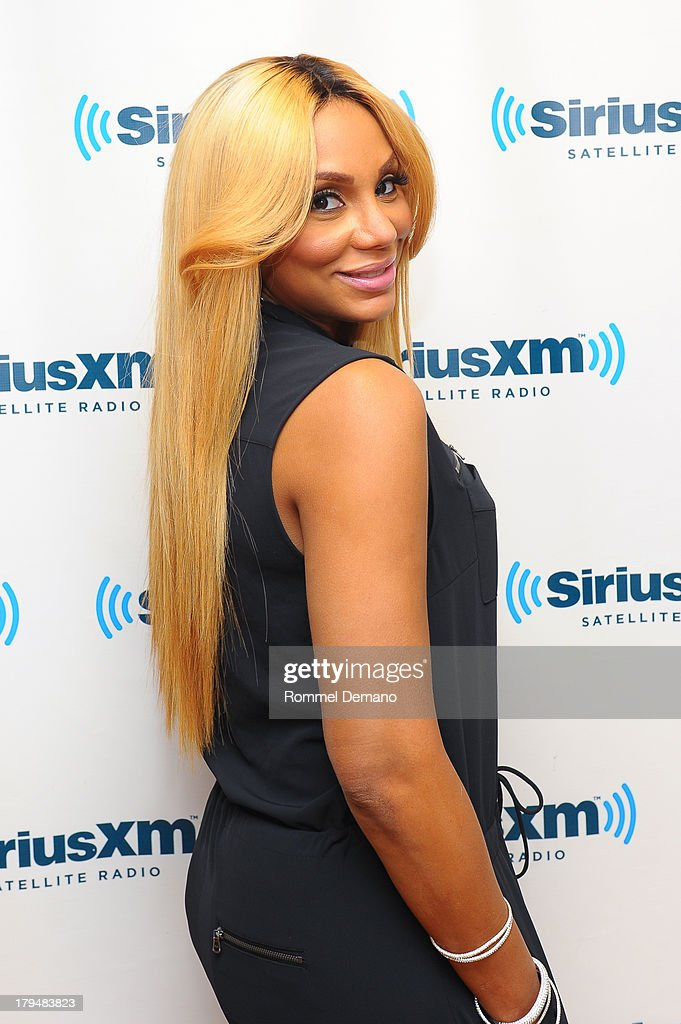 Tamar Braxton visits SiriusXM Studios on September 4, 2013 in New York City.
