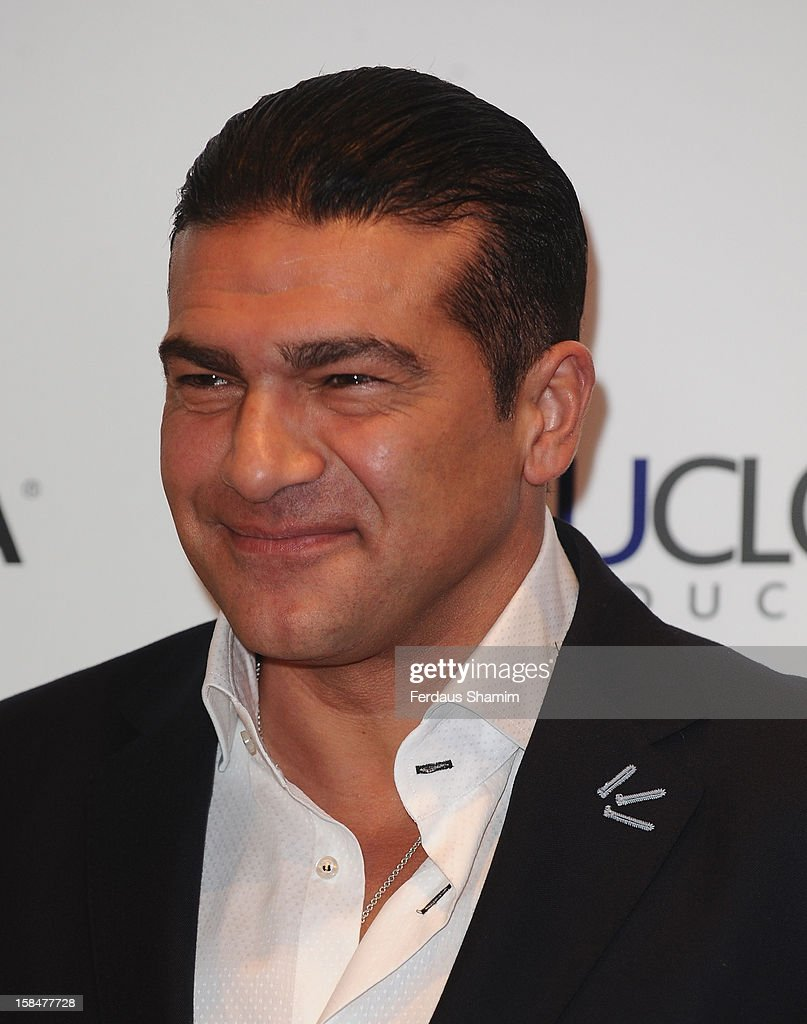 Tamar Hassan attends the UK Film Premiere of 'The Double' on December 17, 2012 in London, England.