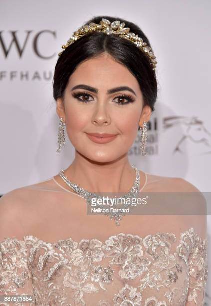 Tamara Al Gabbani attends the IWC Filmmakers Award on day two of the 14th annual Dubai International Film Festival held at the One and Only Hotel on...