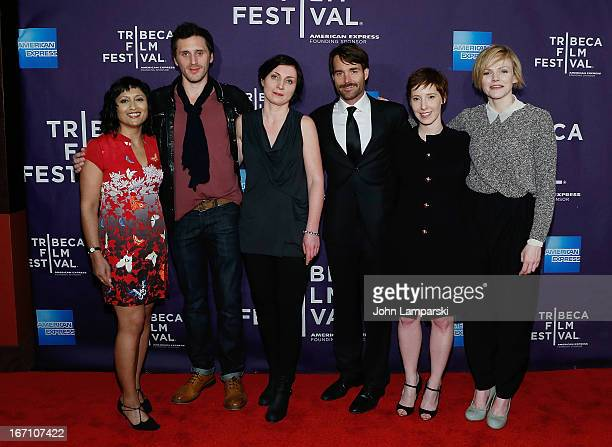 Tamara Anghie Edward MacLiam Martina Niland Will Forte Director Steph Green and Maxine Peake attend the screening of 'Run and Jump' during the 2013...