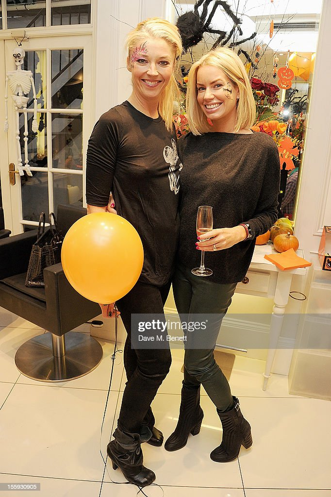 <a gi-track='captionPersonalityLinkClicked' href=/galleries/search?phrase=Tamara+Beckwith&family=editorial&specificpeople=201578 ng-click='$event.stopPropagation()'>Tamara Beckwith</a> (L) and <a gi-track='captionPersonalityLinkClicked' href=/galleries/search?phrase=Caroline+Stanbury&family=editorial&specificpeople=204747 ng-click='$event.stopPropagation()'>Caroline Stanbury</a> attend the launch of Dubble Trubble by celebrity hair colourist and organic beauty pioneer Daniel Galvin Jr of Galvin & Galvin, in aid of The Prince's Trust, on October 31, 2012 in London, England.