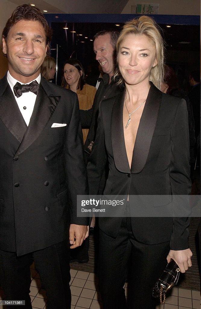 Tamara Beckwith And Italian Boyfriend, Sylvia Movie After Party At Mezzo In Wardour Street, London