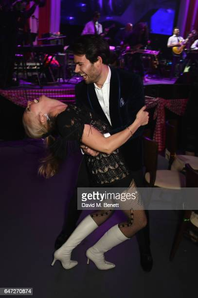 Tamara Beckwith and MarkFrancis Vandelli attend at a Night of Country at The Roundhouse on March 2 2017 in London England