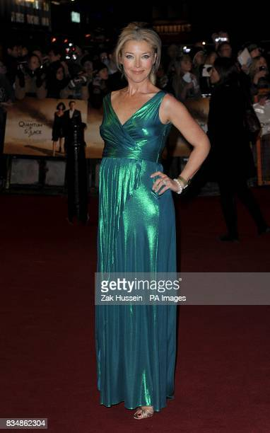 Tamara Beckwith arrives for the World premiere of 'Quantum Of Solace' at the Odeon Leicester Square WC2