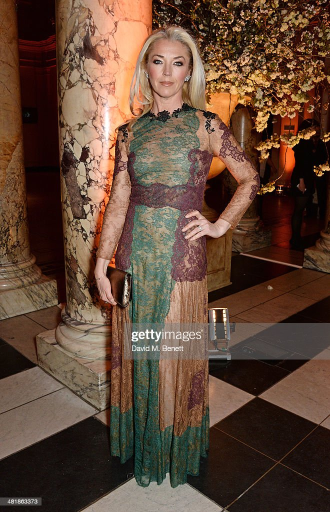 <a gi-track='captionPersonalityLinkClicked' href=/galleries/search?phrase=Tamara+Beckwith&family=editorial&specificpeople=201578 ng-click='$event.stopPropagation()'>Tamara Beckwith</a> attends a private dinner celebrating the Victoria and Albert Museum's new exhibition 'The Glamour Of Italian Fashion 1945 - 2014' at Victoria and Albert Museum on April 1, 2014 in London, England.
