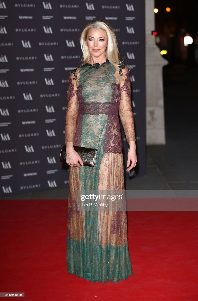 <a gi-track='captionPersonalityLinkClicked' href=/galleries/search?phrase=Tamara+Beckwith&family=editorial&specificpeople=201578 ng-click='$event.stopPropagation()'>Tamara Beckwith</a> attends the preview of The Glamour of Italian Fashion exhibition at Victoria & Albert Museum on April 1, 2014 in London, England.