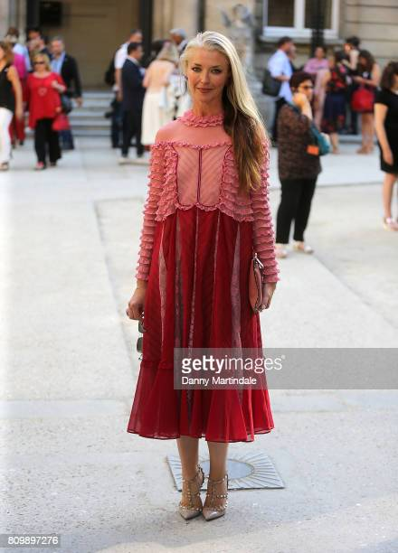 Tamara Beckwith attends the Valentino Haute Couture Fall/Winter 20172018 show as part of Paris Fashion Week on July 5 2017 in Paris France
