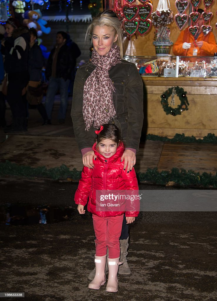 Tamara Beckwith attends the Winter Wonderland launch party at Hyde Park on November 22, 2012 in London, England.