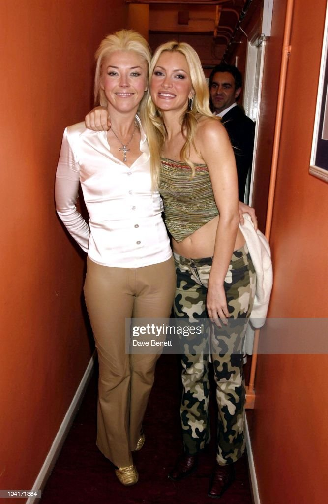 Tamara Beckwith & Caprice, Caprice's Last Few Days In The Vagina Monologues At The Arts Theatre In London.