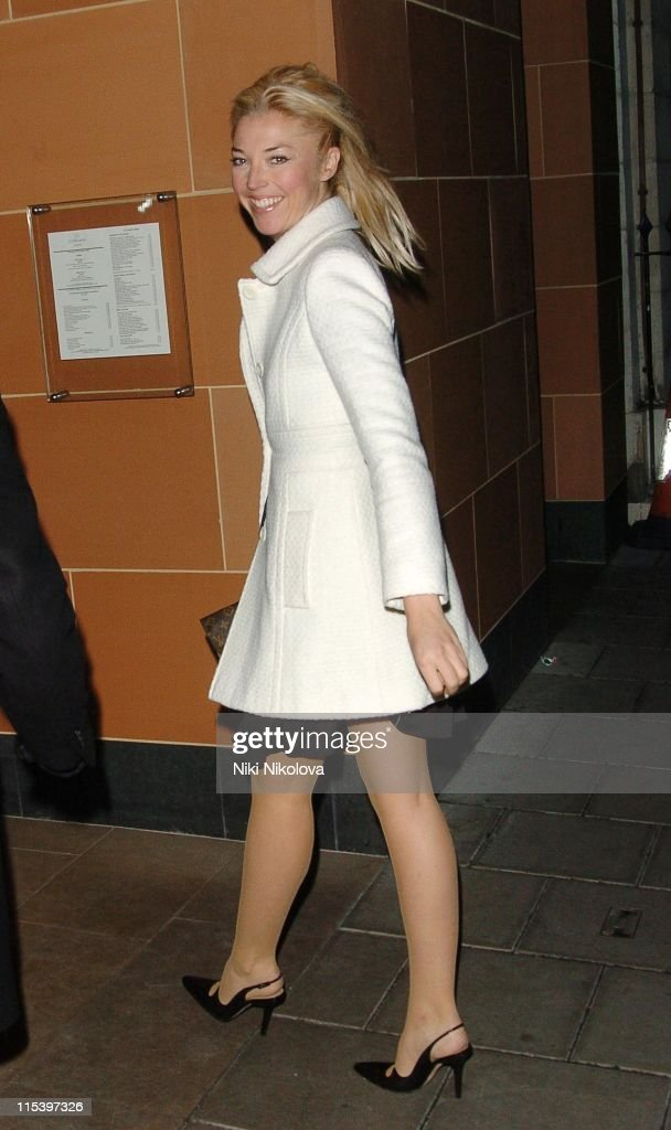 Celebrity Arrivals at Cipriani Restaurant in London - December 3, 2005