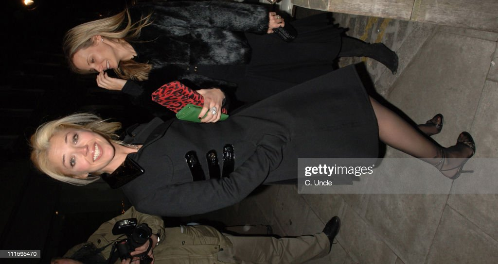 "Tamara Mellon Hosts ""Facing The World"" Charity Dinner - April 4, 2006"