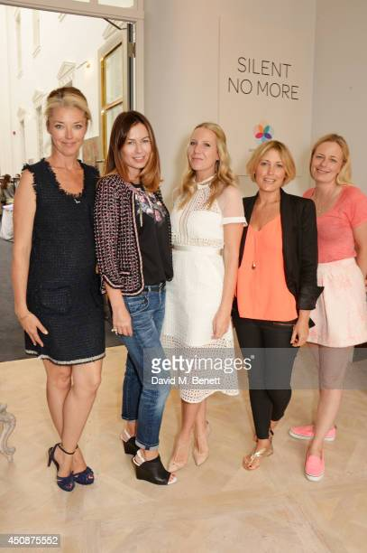 Tamara Beckwith Katya Fomichev Alice Naylor Leyland Mika Simmons and Astrid Harbord attend a summer sale at Grace Belgravia in aid of Silent No More...
