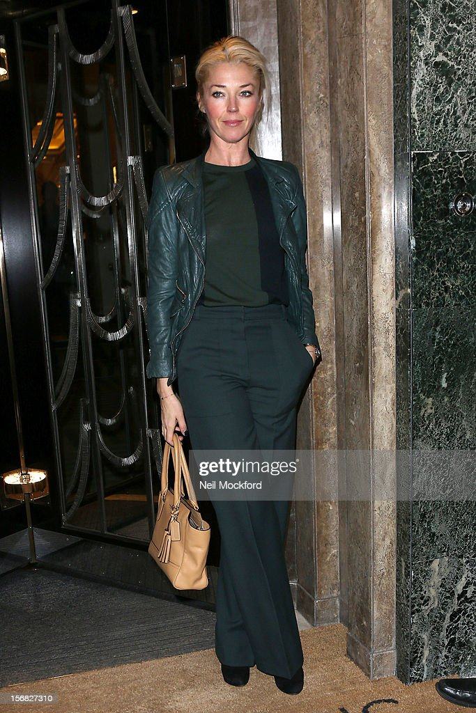 Tamara Beckwith seen arriving at Claridges Hotel for The AVON and Women's Aid Empowering Women Awards on November 22, 2012 in London, England.