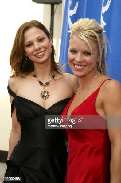 Tamara Braun and Alicia Leigh Willis during 31st Annual Daytime Emmy Awards Creative Arts Presentation Arrivals at Grand Ballroom at Hollywood and...