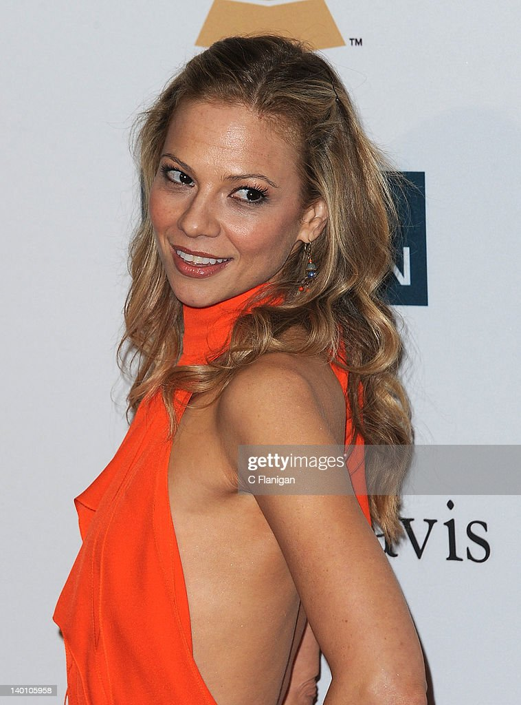 Tamara Braun arrives at Clive Davis and The Recording Academy's 2012 Salute To Industry Icons Gala at The Beverly Hilton hotel on February 11, 2012 in Beverly Hills, California.