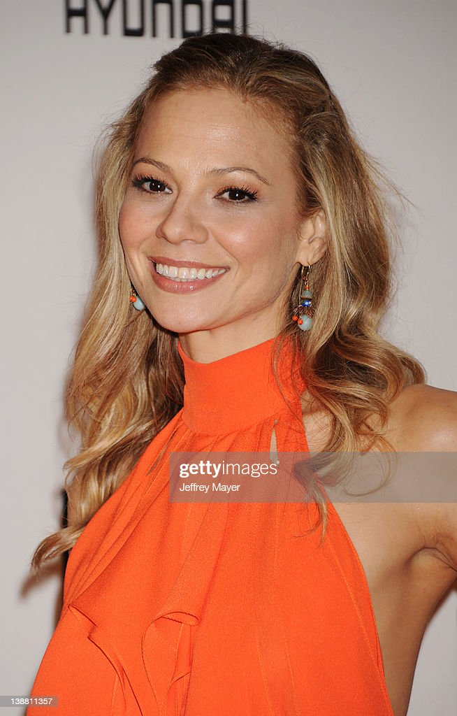Tamara Braun arrives at the Clive Davis and The Recording Academy's 2012 Pre-GRAMMY Gala and Salute to Industry Icons Honoring Richard Branson at The Beverly Hilton hotel on February 11, 2012 in Beverly Hills, California.