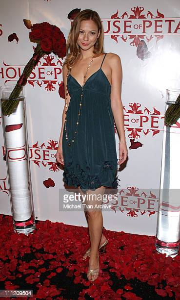 Tamara Braun during House of Petals Presents Harlottique Hosted by Eddie Van Halen October 4 2006 at House of Petals in West Hollywood California...
