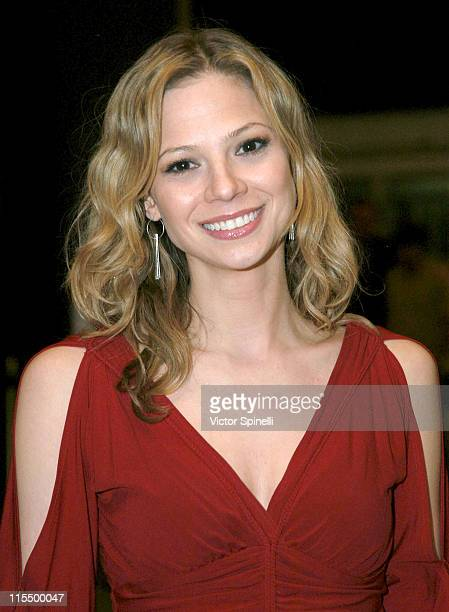 Tamara Braun during Opening Night Of 'Chicago The Musical' Starring Patrick Swayze Arrivals at Pantages Theater in Hollywood California United States