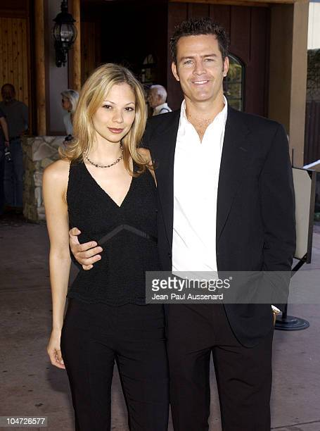 Tamara Braun Ted King during ABC's 'General Hospital' Fan Day at Sportsman's Lodge in Studio City California United States