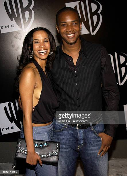 Tamara Curry J August Richards during The WB Network's 2003 All Star Party at White Lotus in Hollywood California United States