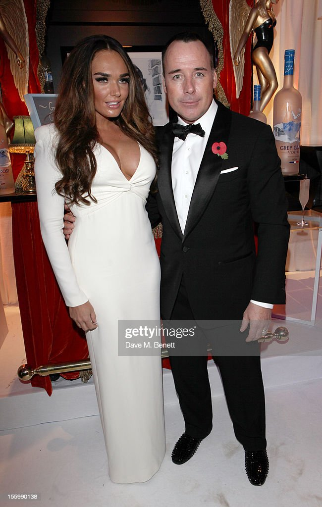 Tamara Ecclestone and David Furnish arrive at the Grey Goose Winter Ball at Battersea Power Station on November 10, 2012 in London, England.