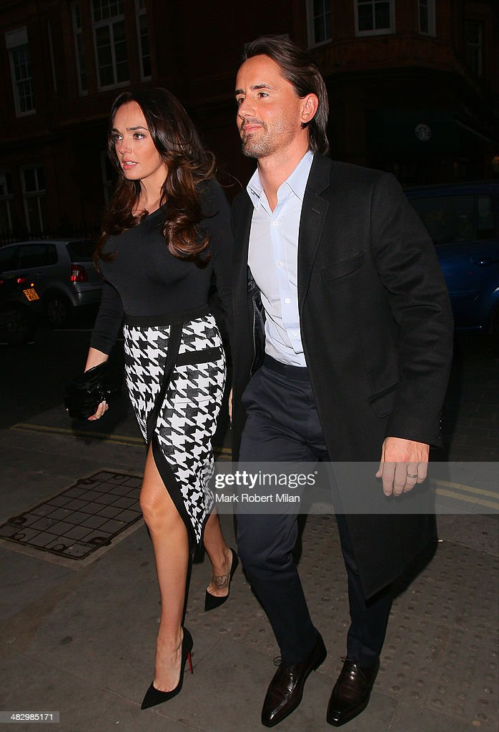 <a gi-track='captionPersonalityLinkClicked' href=/galleries/search?phrase=Tamara+Ecclestone&family=editorial&specificpeople=575176 ng-click='$event.stopPropagation()'>Tamara Ecclestone</a> and <a gi-track='captionPersonalityLinkClicked' href=/galleries/search?phrase=Jay+Rutland&family=editorial&specificpeople=10621365 ng-click='$event.stopPropagation()'>Jay Rutland</a> at Roka restaurant on April 5, 2014 in London, England.