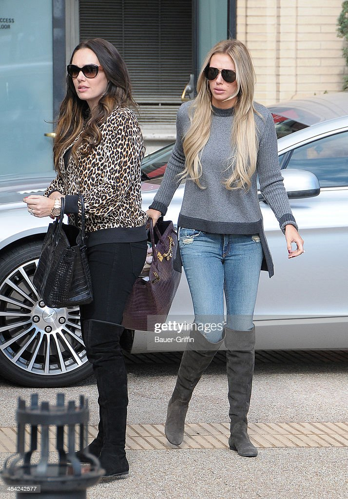 <a gi-track='captionPersonalityLinkClicked' href=/galleries/search?phrase=Tamara+Ecclestone&family=editorial&specificpeople=575176 ng-click='$event.stopPropagation()'>Tamara Ecclestone</a> and Petra Ecclestone are seen on December 07, 2013 in Los Angeles, California.