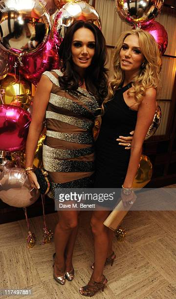 Tamara Ecclestone and Petra Ecclestone celebrate Tamara Ecclestone's birthday in the private room at Cipriani Restaurant on June 25 2011 in London