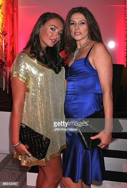Tamara Ecclestone and Slavica Ecclestone attends the F1 Party In Aid Of Great Ormond Street at Victoria Albert Museum on June 17 2009 in London...
