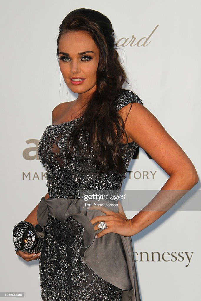 Tamara Ecclestone arrives at amfAR's Cinema Against AIDS at Hotel Du Cap on May 24, 2012 in Antibes, France.