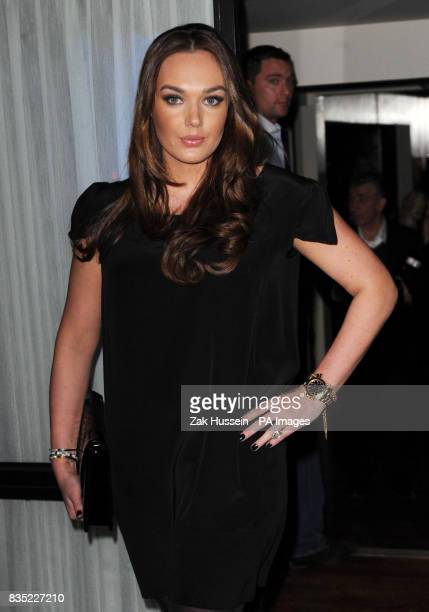 Tamara Ecclestone arrives for the Fashion Fringe 2009 launch party at Tini in south west London