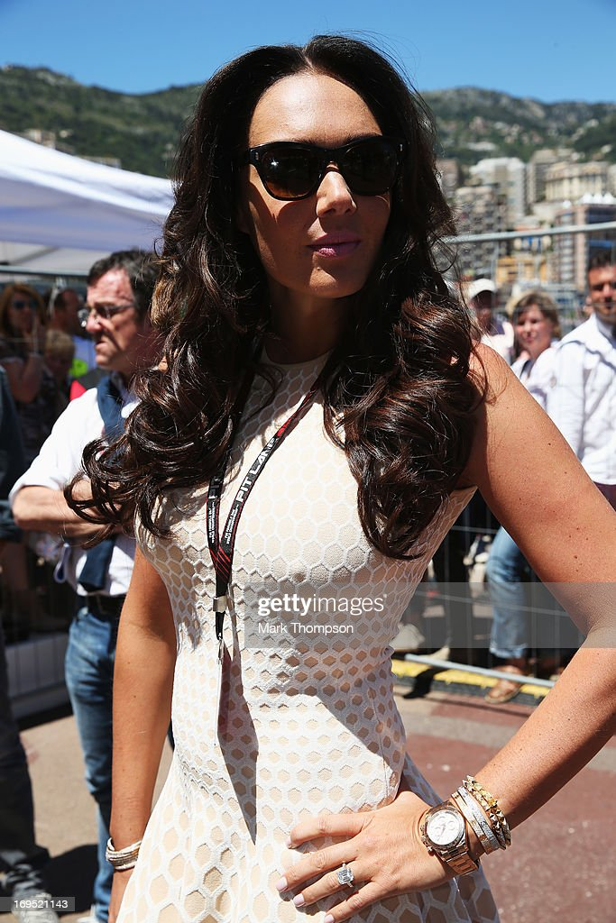 Tamara Ecclestone arrives in the paddock before the Monaco Formula One Grand Prix at the Circuit de Monaco on May 26, 2013 in Monte-Carlo, Monaco.