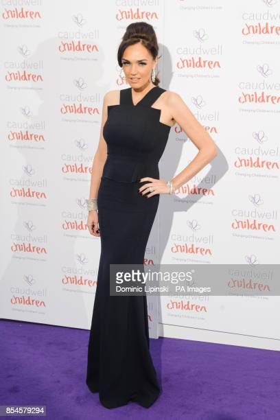 Tamara Ecclestone arriving at the Caudwell Children Butterfly Ball at the Grosvenor House hotel in central London