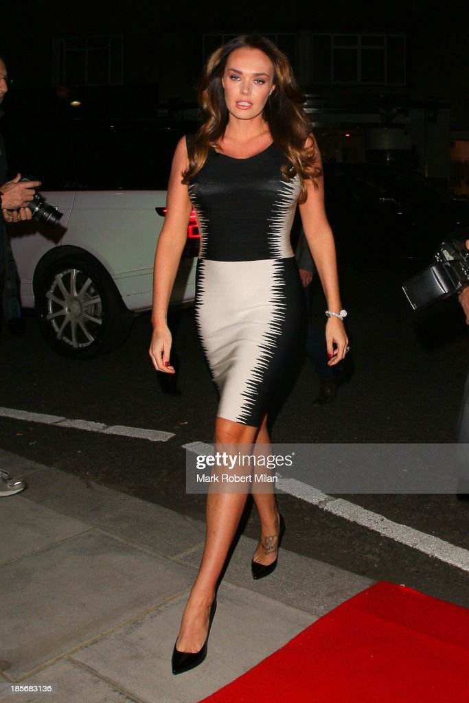 <a gi-track='captionPersonalityLinkClicked' href=/galleries/search?phrase=Tamara+Ecclestone&family=editorial&specificpeople=575176 ng-click='$event.stopPropagation()'>Tamara Ecclestone</a> attending the Herve Leger by Max Azria Barbie doll launch on October 23, 2013 in London, England.