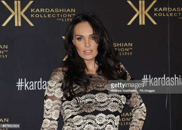 Tamara Ecclestone attending the Kardashian Kollection For Lipsy launch party at the Natural History Museum London