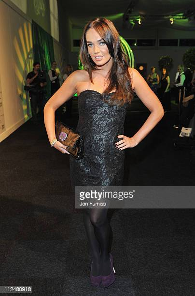 Tamara Ecclestone attends Ronan Keating's fourth annual Emeralds and Ivy Ball in aid of Cancer Research UK at Battersea Evolution on November 21 2009...